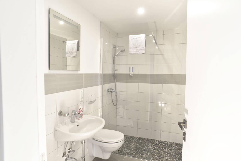 Hotel zur Eiche Badezimmer