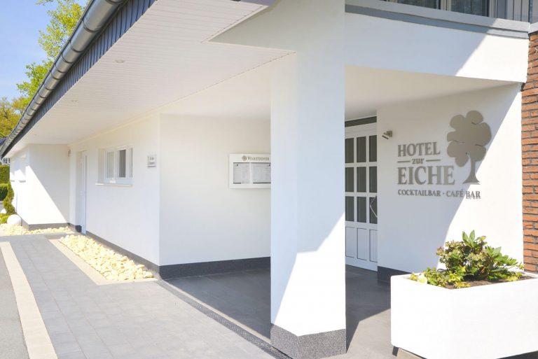 Hotel zur Eiche Eingangsbereich