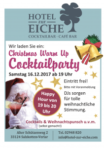 Cocktailparty-Hotel-zur-Eiche in Salzkotten