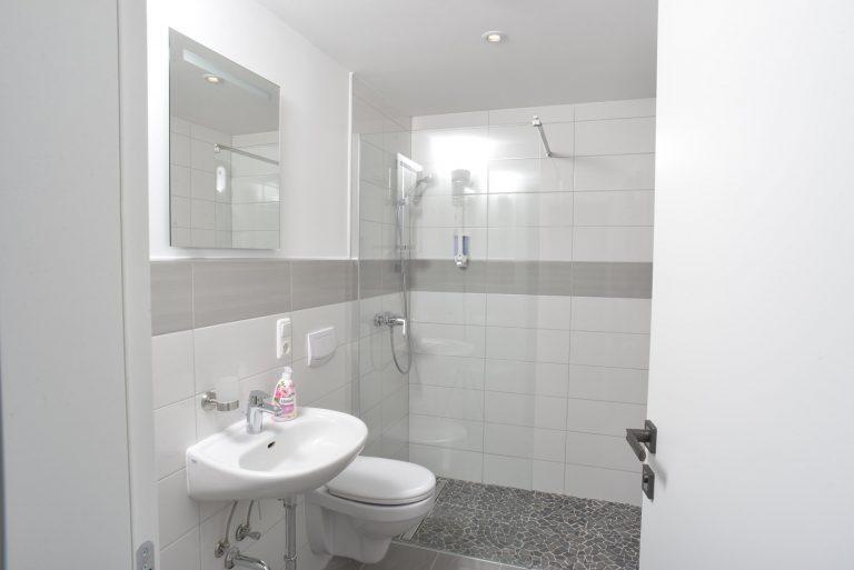 Badezimmer Hotel zur Eiche in Salzkotten