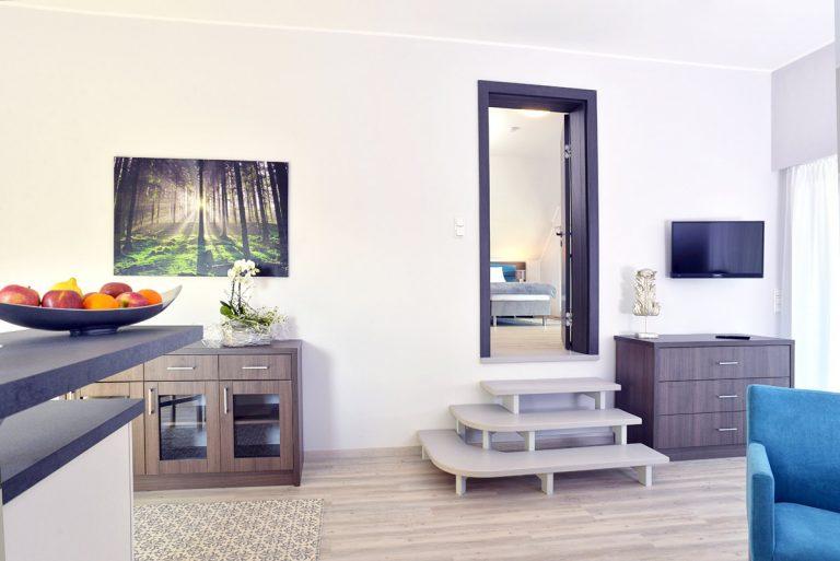 Wohnbereich Hotel zur Eiche in Salzkotten