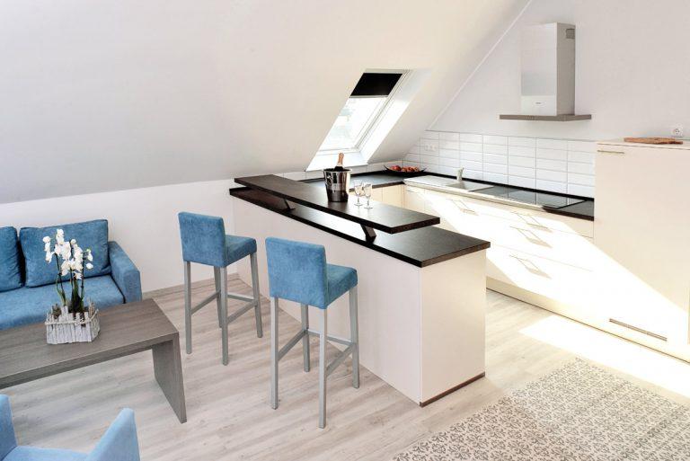 private Küche Hotel zur Eiche in Salzkotten